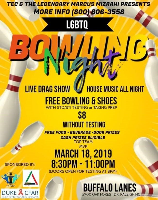 Bowling Night March 2019