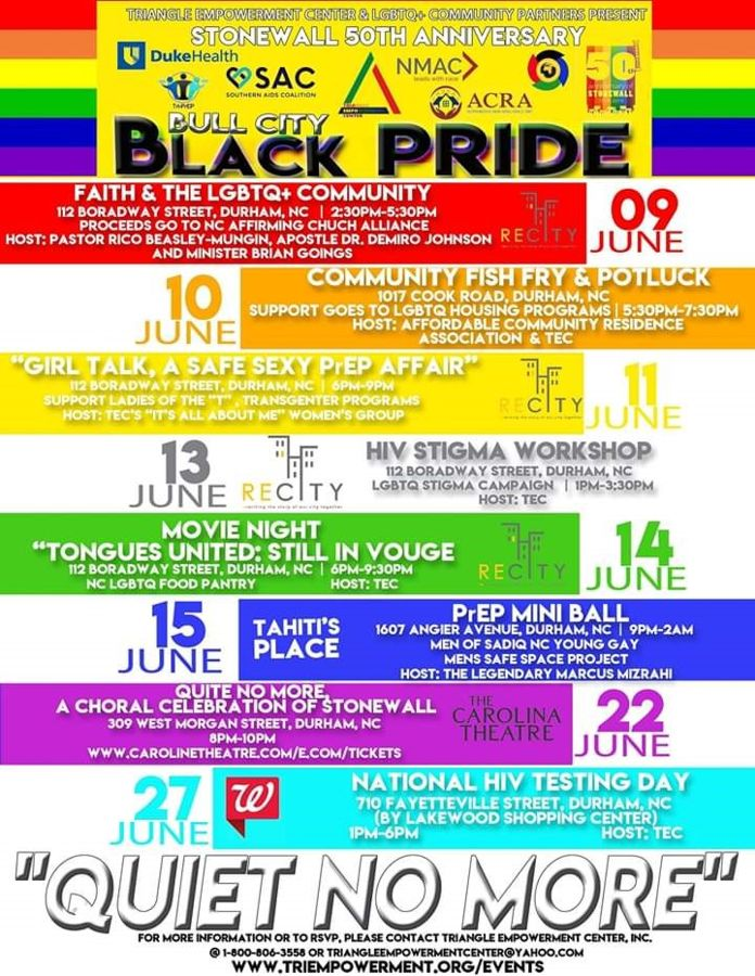 Bull City Black Pride 2019