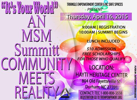 Its Your World MSM Summit