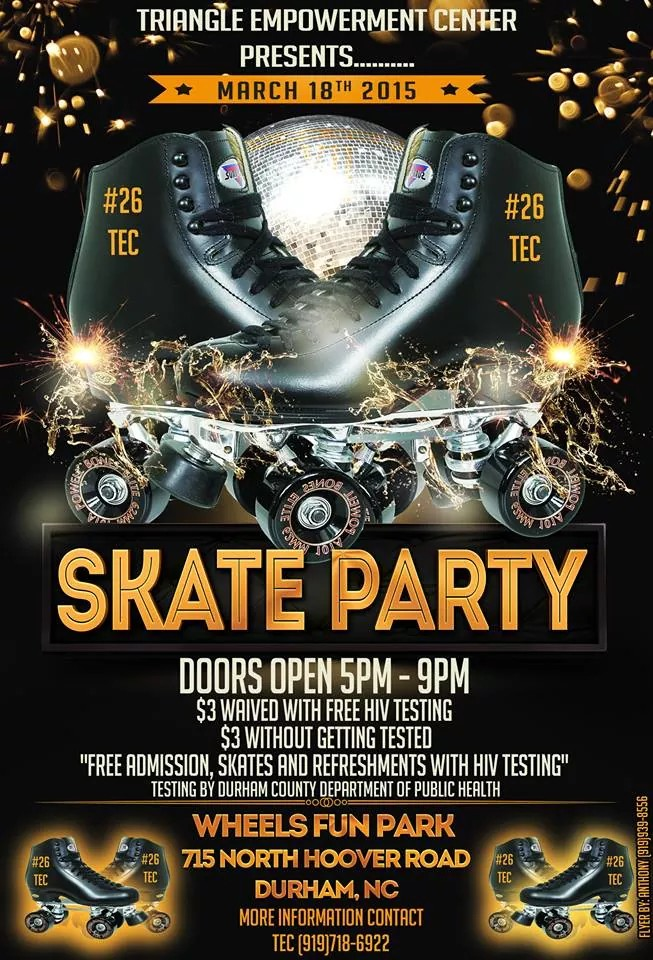 Skate Party 2015 March 18