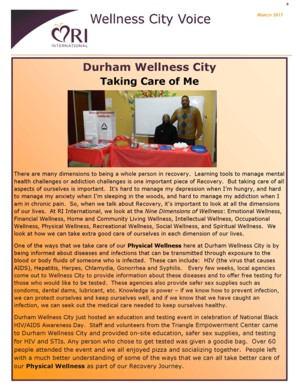 Wellness City Voice 2017 March page 4